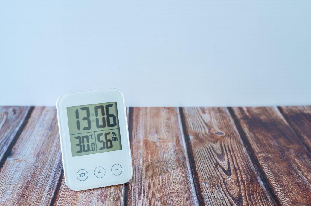 Mit einem Hygrometer Schimmel vorbeugen