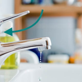 Wenn der Wasserhahn nicht mehr funktioniert, kann es an der Mischkartusche liegen