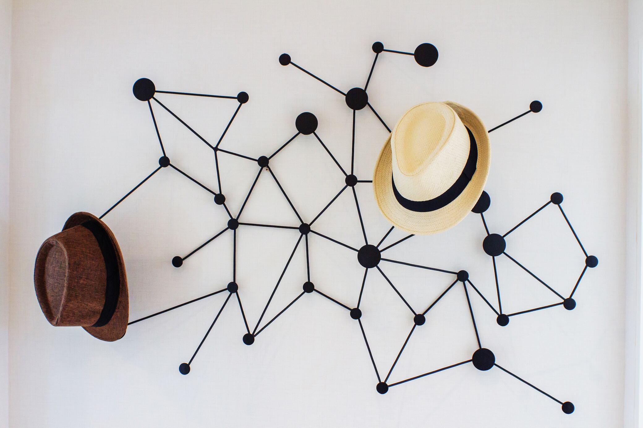 12 außergewöhnliche DIY-Ideen für die Garderobe