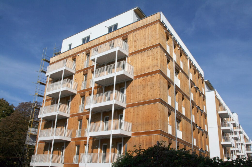 Holz als Baustoff: Mehrgeschössiges Haus in Holzbauweise