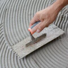 Zement ist oft in Mörtel oder Putz als Bindemittel enthalten