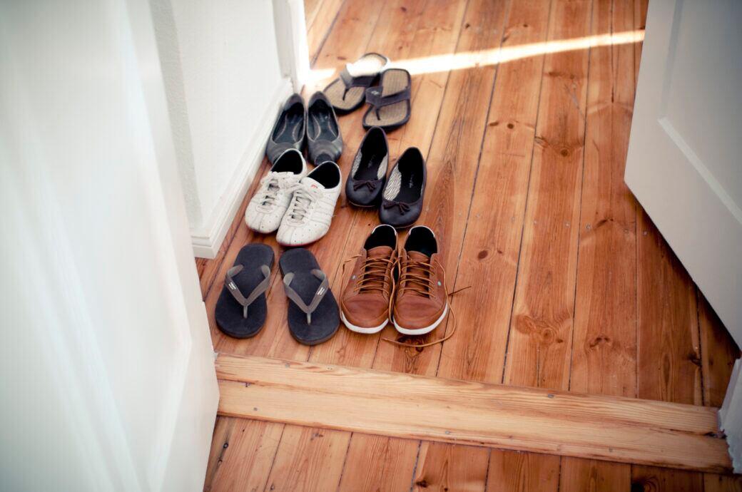 Hausschuhe Gäste