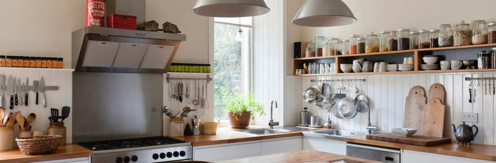 Mit einfachen Mitteln kann man die Küche aufwerten