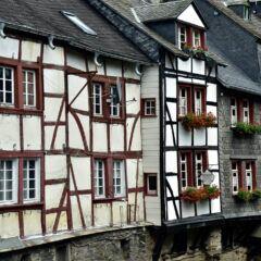 Gebäude unter Denkmalschutz in Monschau