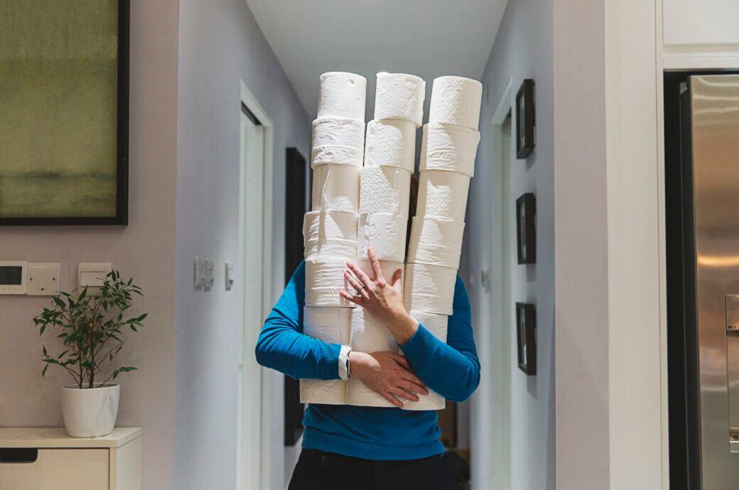 So kann man berechnen, für wie lange der Toilettenpapiervorrat in Zeiten von Corona reicht