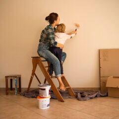 Wie Wandfarbe die Wirkung einer Wohnung beeinflussen kann
