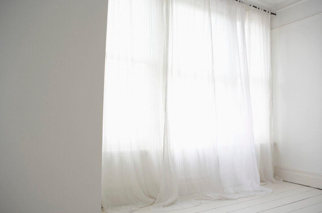 Ein zu langer Vorhang muss nicht unbedingt kürzer genäht werden