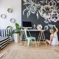 Mit Tafelfarbe und Tafellack kann man die eigenen vier Wände individuell gestalten