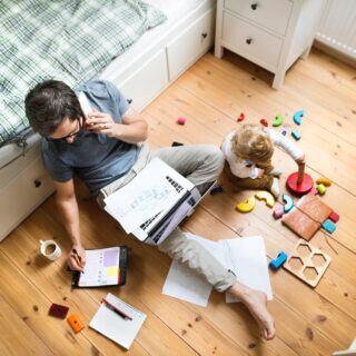 Familien-Stress im Homeoffice vermeiden – Tipps von einem Aufräum-Coach