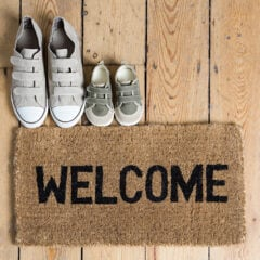 Putz-Challenge: Heute reinigen wir die Fußmatte