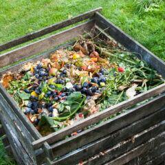 Ein Komposter ist nicht besonders kompliziert zu bauen und liefert wertvollen Humus