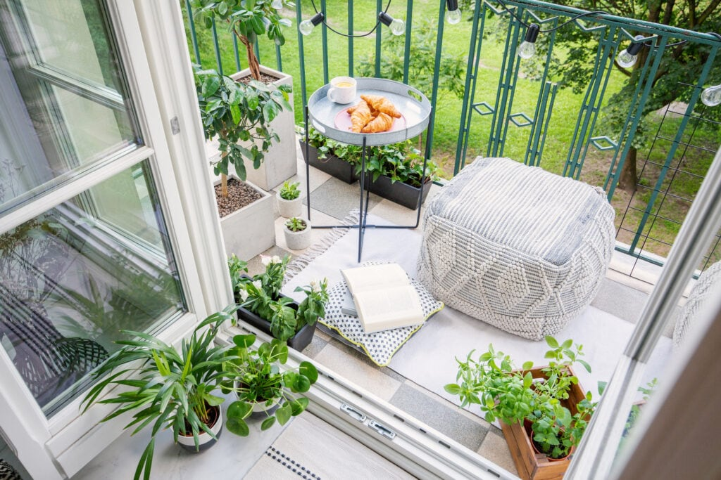 7 Einrichtungs-Ideen für den Balkon