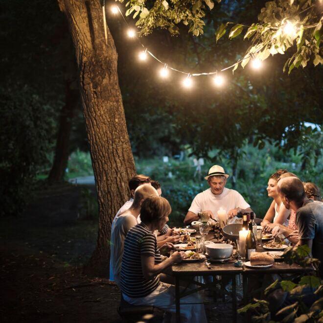 Outdoor-Leuchten und -Lampen für Garten und Balkon