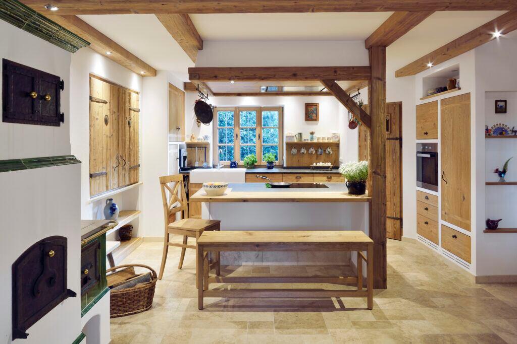 Küche im rustikalen Design einrichten