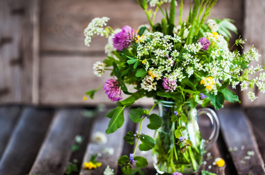 DIY-Blumenstrauß aus dem eigenen Beet binden