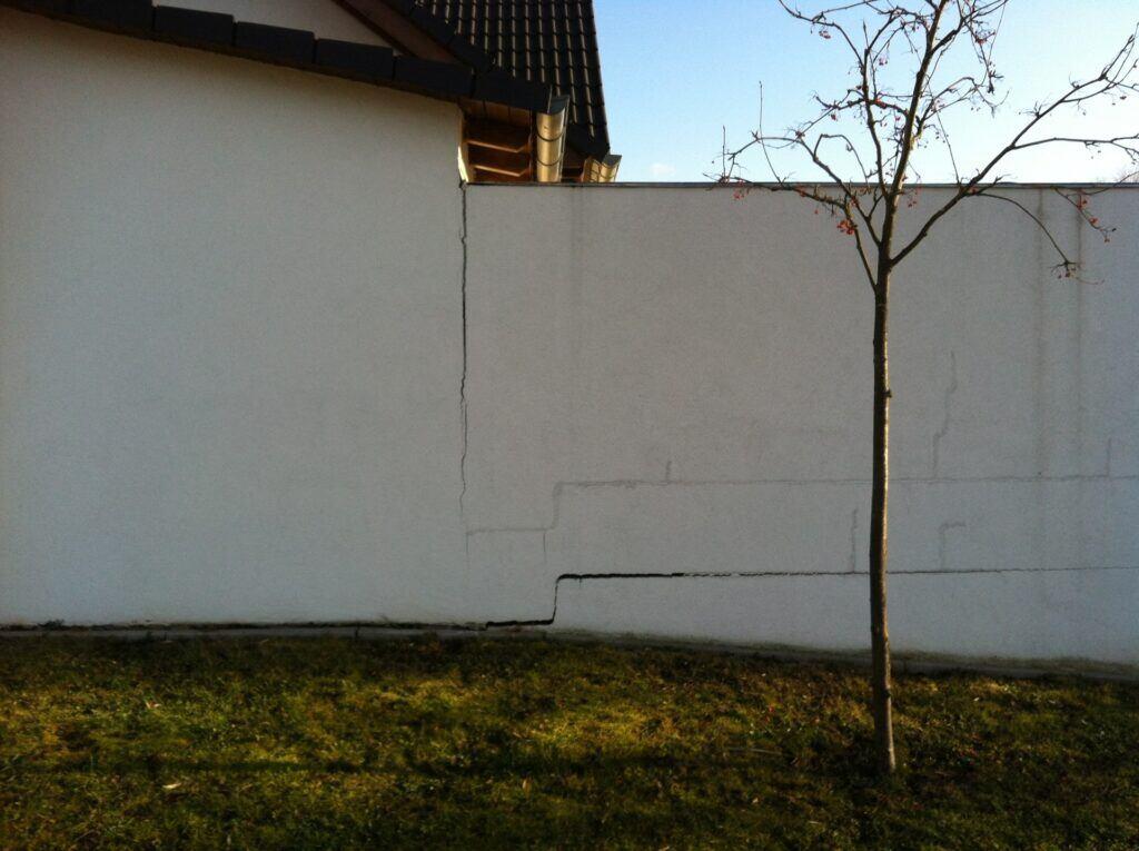 Baumängel: Fassadenriss