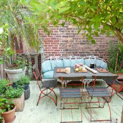 Farben, Muster und Materialien im Outdoor-Bereich richtig kombinieren