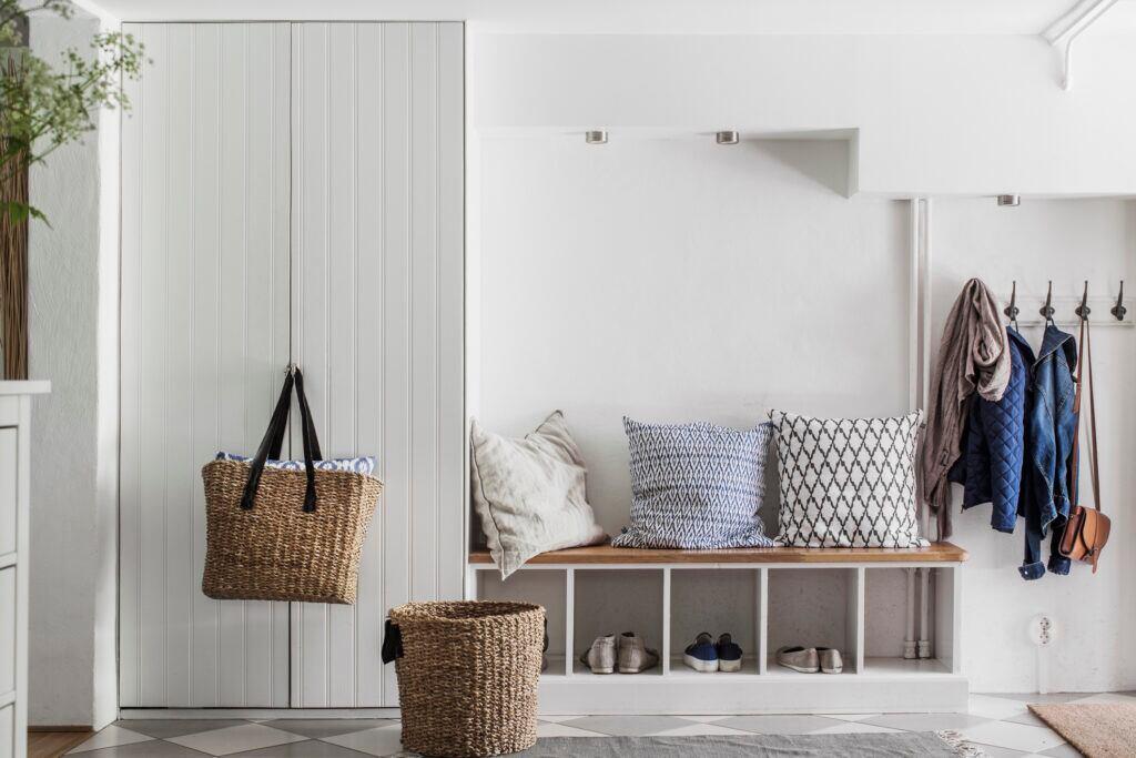 Zusätzliche Möbel im Ankleidezimmer