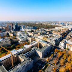 Immobilien in Berlin aus der Luft