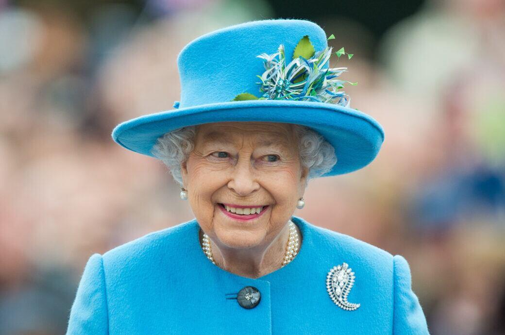 Queen Elizabeth II. öffnet Rosengarten für Besucher