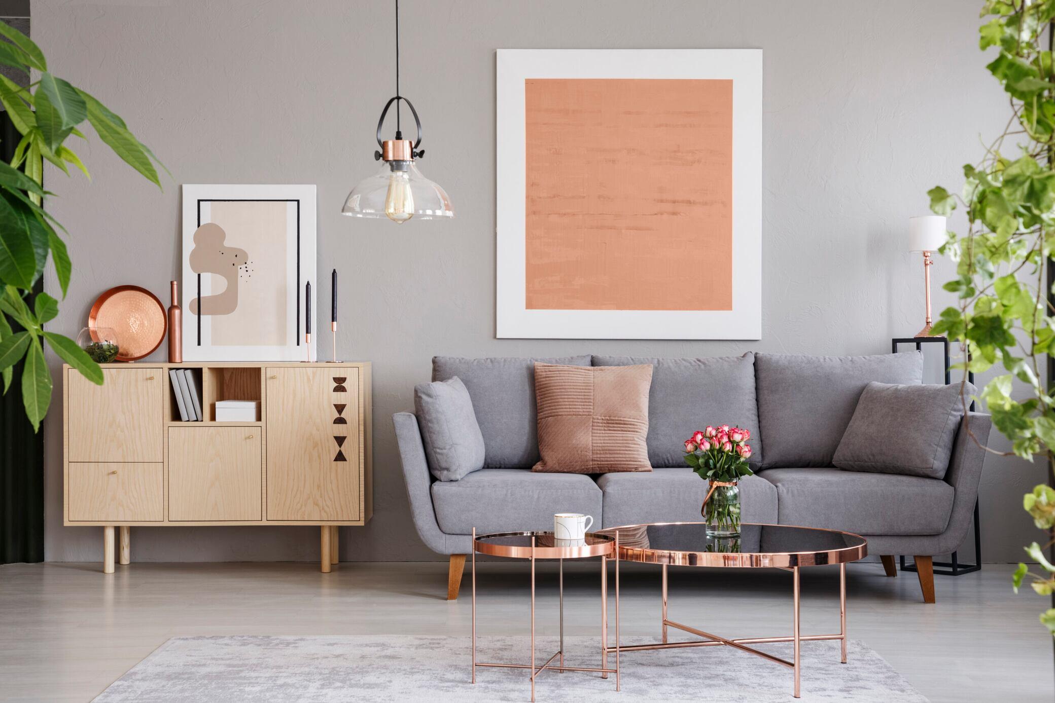 Wie Ein Graues Sofa Zum Hingucker Wird Myhomebook