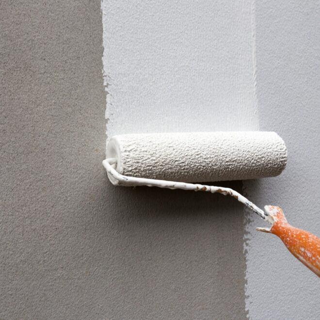 Wie oft darf man eine Wand streichen?