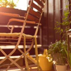 Balkon und Terrasse winterfest machen