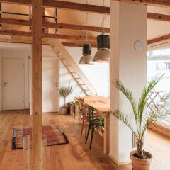 Räume mit Balken einrichten – Tipps