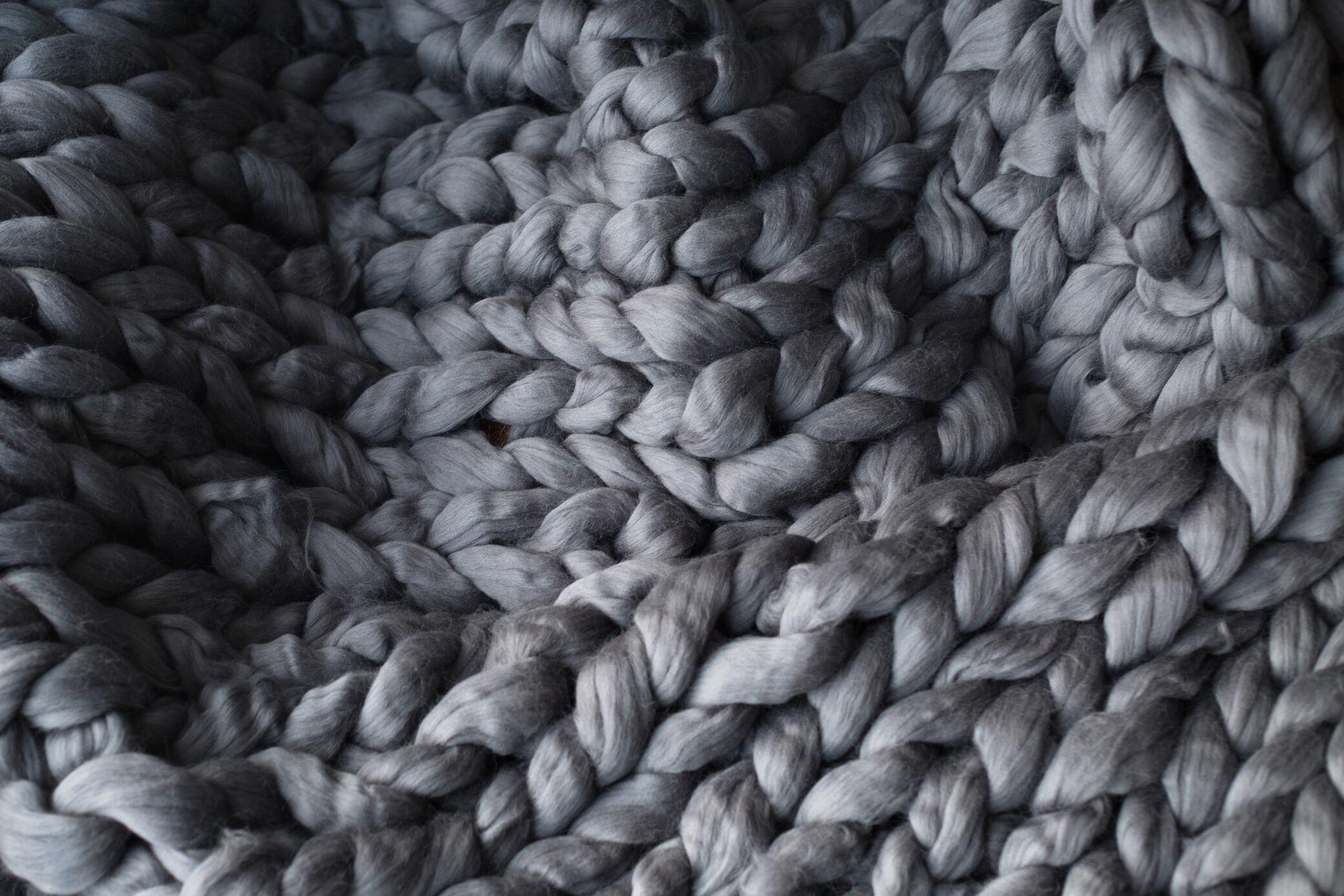 Wolldecke Fusselt